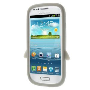 Silikonový TUČŃÁK puzdro na Samsung Galaxy S3 mini i8190- šedý - 3