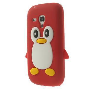 Silikonový TUČŃÁK puzdro na Samsung Galaxy S3 mini i8190- červený - 3