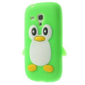 Silikonový TUČŃÁK puzdro na Samsung Galaxy S3 mini i8190- zelený - 3