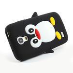 Silikon 3D TUČŇÁK pro Samsung Galaxy S4 mini i9190- čierný - 3/5
