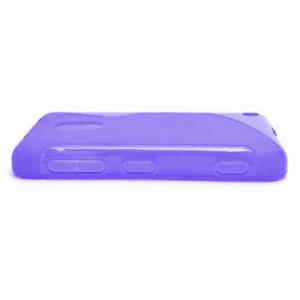 Gélové S-line puzdro na Nokia Lumia 620- fialové - 3