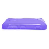 Gélové S-line puzdro na Nokia Lumia 620- fialové - 3/5