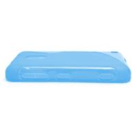 Gélové S-line puzdro na Nokia Lumia 620- modré - 3/5