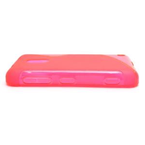 Gélové S-line puzdro na Nokia Lumia 620- ružové - 3