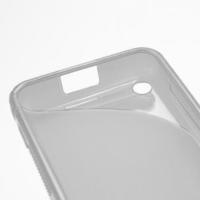 Gélové S-line puzdro na Nokia Lumia 620- transparentný - 3/5