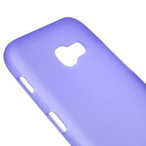 Frosty matný gélový obal pre mobil Samsung Galaxy A5 (2017) SM-A520 - fialový - 3