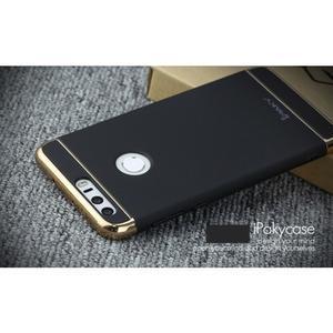 Luxusní odolný obal 3v1 na mobil Honor 8 - čierny - 3