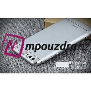 Luxusné odolný obal 3v1 pre mobil Honor 8 - strieborny - 3
