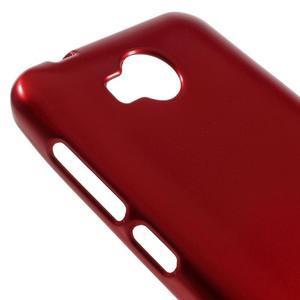Luxusní gélový obal na mobil Huawei Y3 II - červený - 3