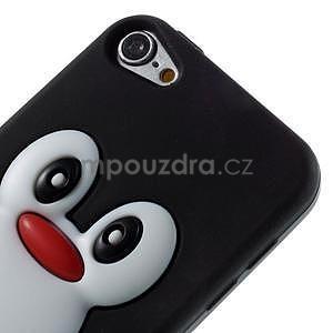 Penguin silikónový obal na iPod Touch 6 / iPod Touch 5 - čierny - 3