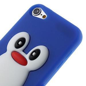Penguin silikónový obal pre iPod Touch 6 / iPod Touch 5 - tmavomodrý - 3
