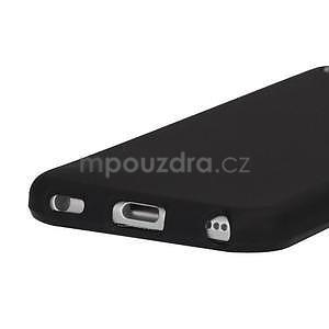 Matte gélový obal pre iPod Touch 5 a iPod Touch - čierny - 3
