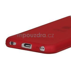 Matte gélový obal na iPod Touch 5 a iPod Touch -  červený - 3