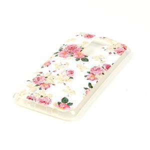 Jells gelový obal na LG K8 - květiny - 3