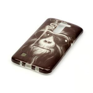 Emotive gélový obal pre mobil LG K8 - opičák - 3