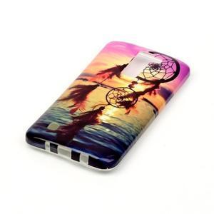 Emotive gélový obal pre mobil LG K8 - snívanie - 3