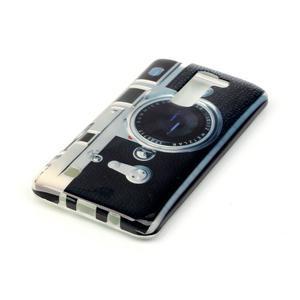 Emotive gélový obal pre mobil LG K8 - retro foťák - 3