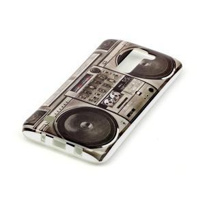 Emotive gelový obal na mobil LG K8 - retro magneťák - 3