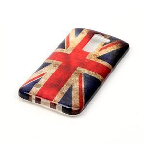 Emotive gélový obal pre mobil LG K8 - UK vlajka - 3