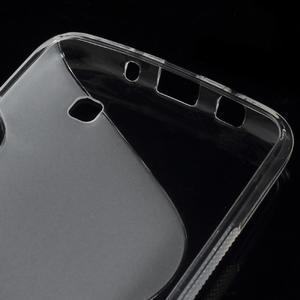 S-line gélový obal pre LG K8 - transparentný - 3