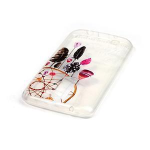 Priehľadný gélový obal pre telefon LG K8 - snívanie - 3