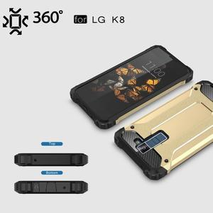 Armory odolný obal pre mobil LG K8 - zlatý - 3