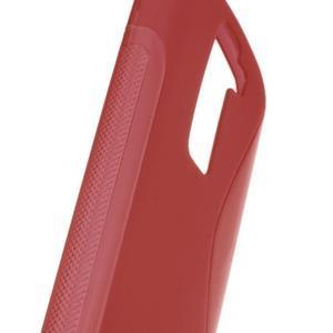 S-line gélový obal pre LG K8 - červený - 3