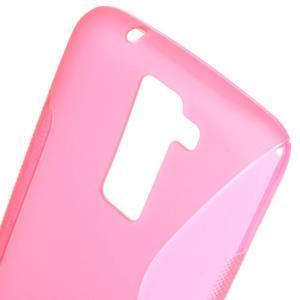 S-line gélový obal pre LG K8 - rose - 3