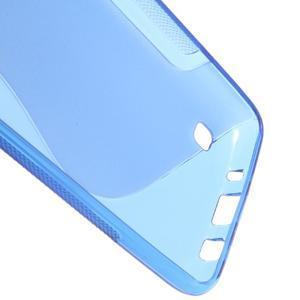 S-line gelový obal na LG K8 - modrý - 3