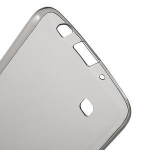 Ultratenký gelový obal na mobil LG K8 - šedý - 3