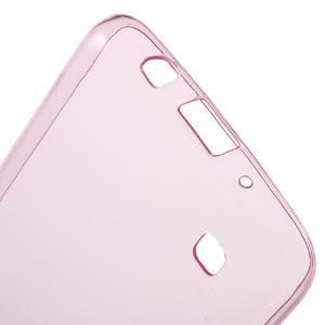 Ultratenký gélový obal pre mobil LG K8 - ružový - 3