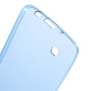 Ultratenký gélový obal pre mobil LG K8 - modrý - 3