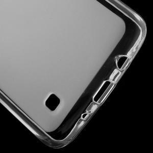 Matný gélový obal pre mobil LG K8 - transparentný - 3