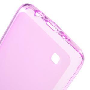 Matný gelový obal na mobil LG K8 - růžový - 3