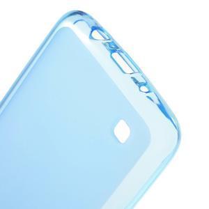 Matný gelový obal na mobil LG K8 - modrý - 3