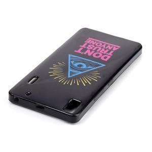 Gélový obal pre mobil Lenovo A7000 / K3 Note - oko - 3