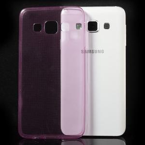 Slim obal pre Samsung Galaxy A3 - ružové - 3