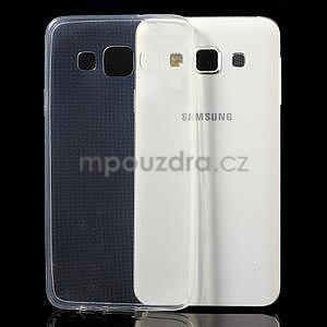 Slim obal na Samsung Galaxy A3 - transparentný - 3
