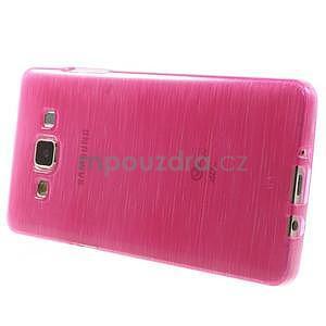Brúsený gélový obal Samsung Galaxy A5 - rose - 3