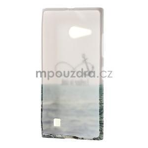 Gélové puzdro na Nokia Lumia 730 a Lumia 735 - kotva - 3