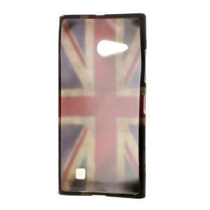 Gélové puzdro na Nokia Lumia 730 a Lumia 735 - UK vlajka - 3