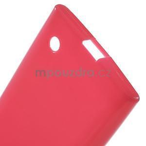 Gélový obal na Nokia Lumia 730 a Lumia 735 - rose - 3