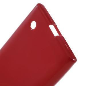 Gélový obal na Nokia Lumia 730 a Lumia 735 - červený - 3