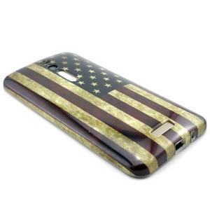 Gélový obal Asus Zenfone 2 ZE551ML - US vlajka - 3