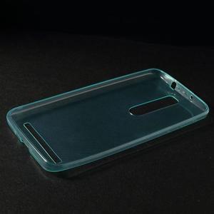 Ultratenký slim obal pre Asus Zenfone 2 ZE551ML - svetlomodrý - 3
