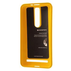 Gélový obal na Asus Zenfone 2 ZE551ML - žltý - 3