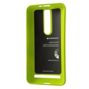 Gélový obal na Asus Zenfone 2 ZE551ML - zelený - 3