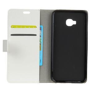 Crazy PU kožené puzdro na mobil Asus Zenfone 4 Selfie Pro ZD552KL - biele - 3