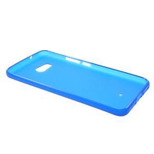 Matný gélový obal na mobil HTC U11 - modrý - 3