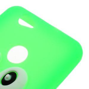 Tučňák silikonový obal na mobil Huawei Nova - zelený - 3